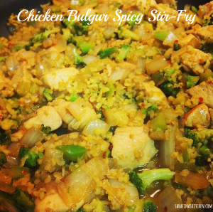 chicken bulgur