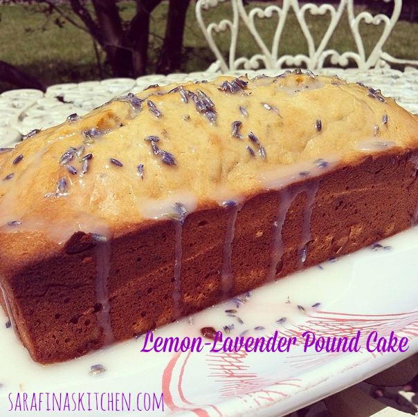 Lemon-Lavender Pound Cake | Sarafina's Kitchen