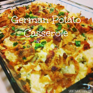 German Potato Casserole | Sarafina's Kitchen