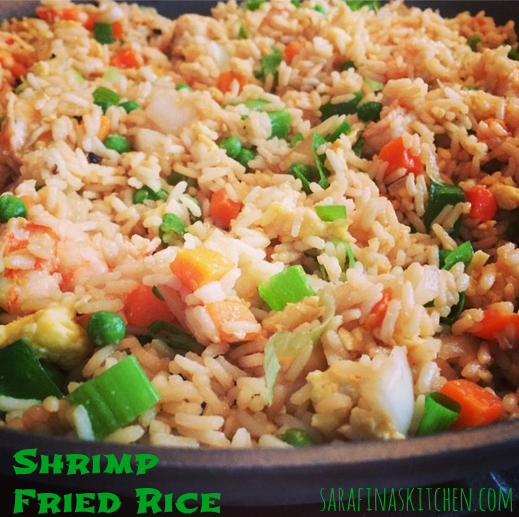 Shrimp Fried Rice | Sarafina's Kitchen