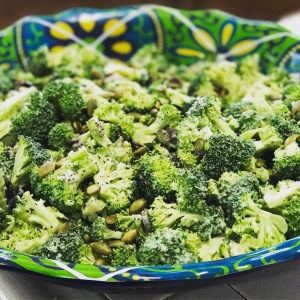 Broccoli Cranberry Salad | Sarafina's Kitchen